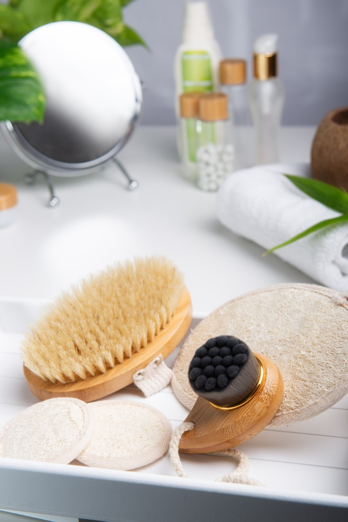 brosse-gommage-a-sec